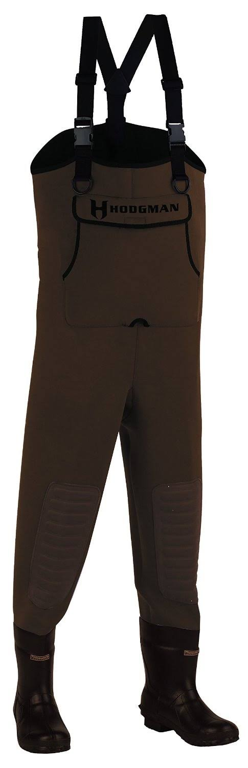 Hodgman Caster Neoprene Cleated Bootfoot Chest Waders 11; Brown