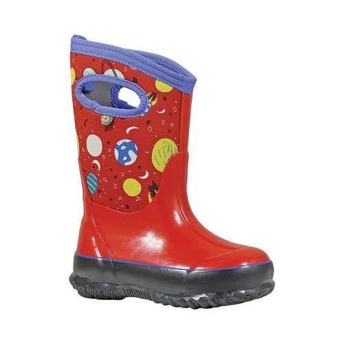 Bogs Kids Classic Space Boot Red Multi 11