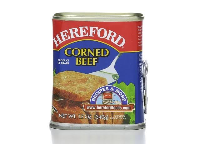 Hereford Corned Beef - 12oz, Case of 6