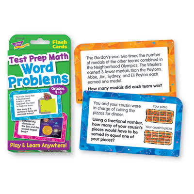 Trend Challenge Cards Test Prep Math