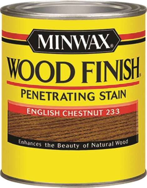 Minwax Wood Finish Interior Wood Stain - English Chestnut, 1/2 Pint