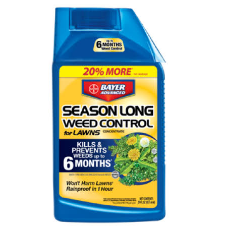 Bayer Advanced Season Long Weed Control for Lawns Concentrate - 24oz
