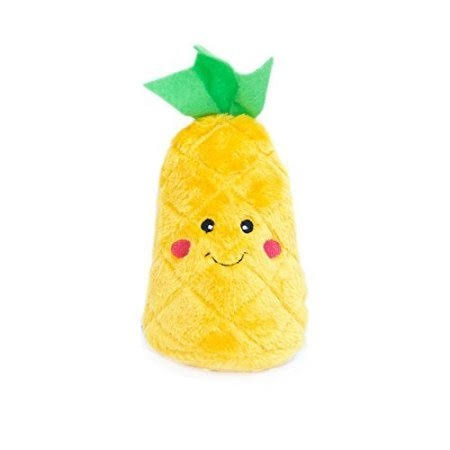 ZippyPaws NomNomz Plush Pineapple Dog Toy