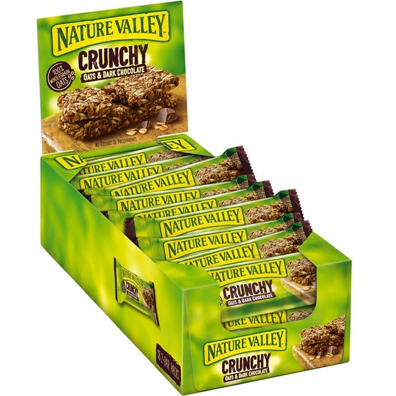 Nature Valley Crunchy Oats and Dark Chocolate Cereal Bar - 42g
