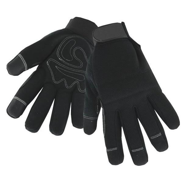 West Chester High Dexterity Winter Work Gloves - Large, Black