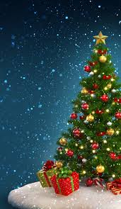 Blinking Christmas Tree Lights Gif by Tap Image For More Christmas Wallpapers Christmas Tree Iphone