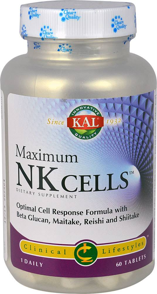 KAL, Maximum NK Cells, 60 Tablets