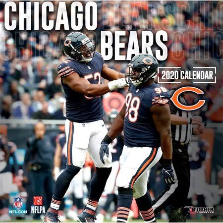 Chicago Bears: 2020 Team Wall Calendar - Lang Companies