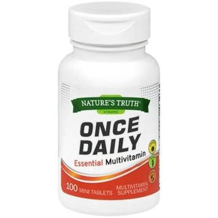 Nature's Truth Essential Multivitamin - 100 Mini Tablets