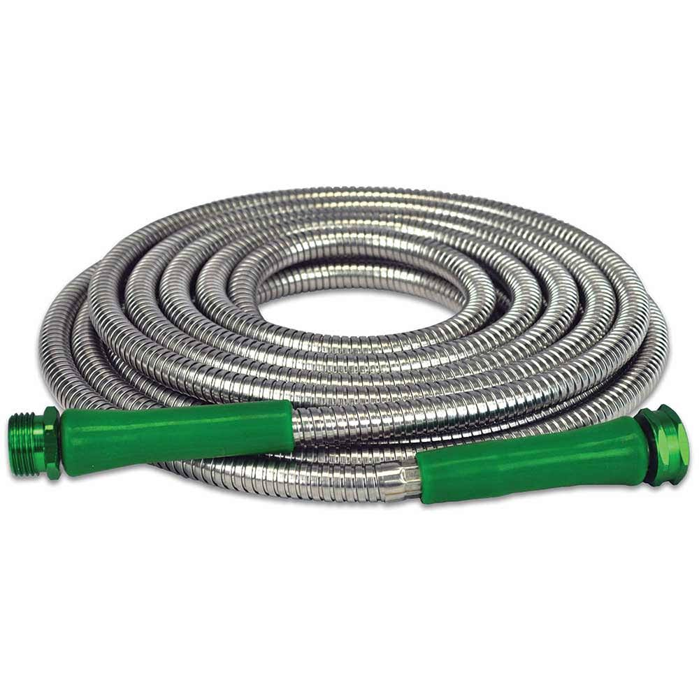 Metal Garden Stainless Steel Hose - 25'