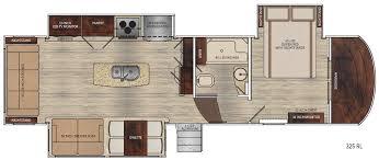 5th Wheel Toy Hauler Floor Plans by Vanleigh Rvs Luxurious Fifth Wheel Rvs Lazydays Rv