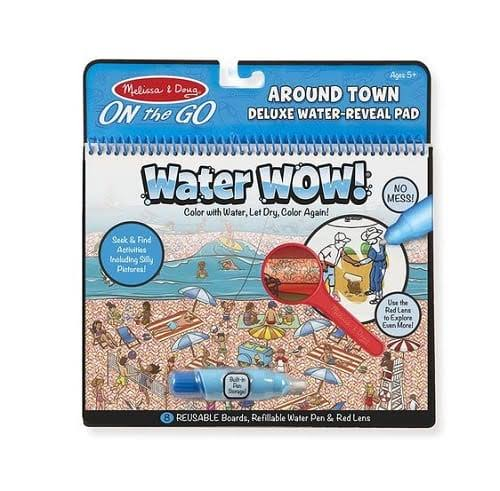 Melissa & Doug - Water Wow! Around Town Deluxe Water Reveal Pad