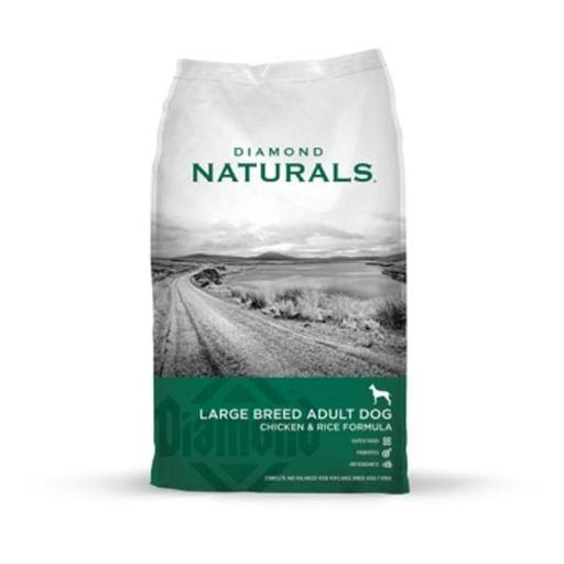 Diamond Naturals Dog Food - Large Breed Adult Dogs, Chicken and Rice, 40lbs