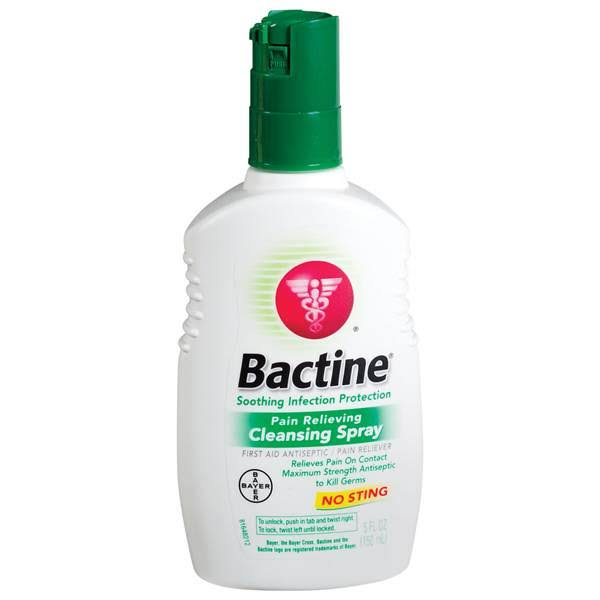 Bactine Max Pain Relieving Cleansing Spray - 5.0 fl oz