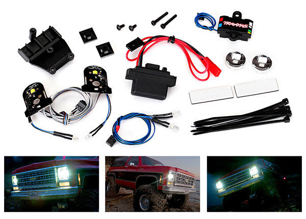 Traxxas Complete 8130 LED Light Set with Power Supply TRA8038