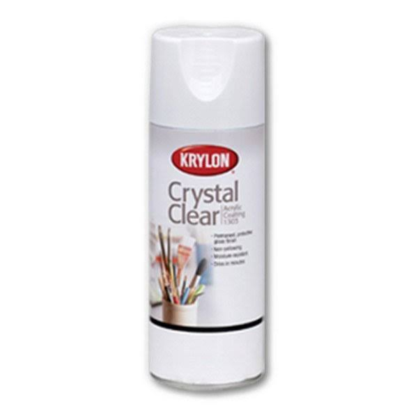 Krylon Acrylic Coating Aerosol Spray - 6oz, Crystal Clear