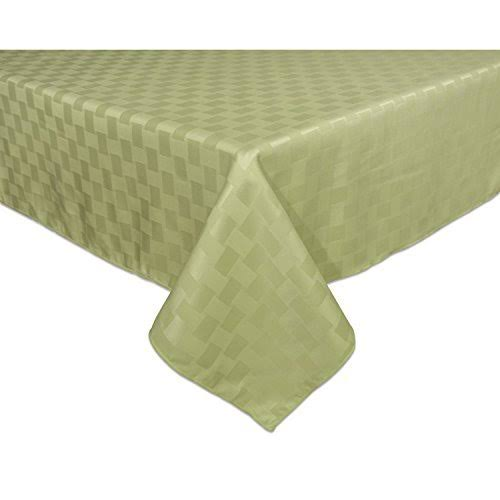 Reflections Microfiber Tablecloth, Green