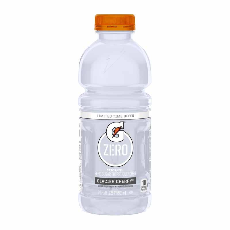 Gatorade Zero Glacier Cherry Zero Sugar Drink - 20oz