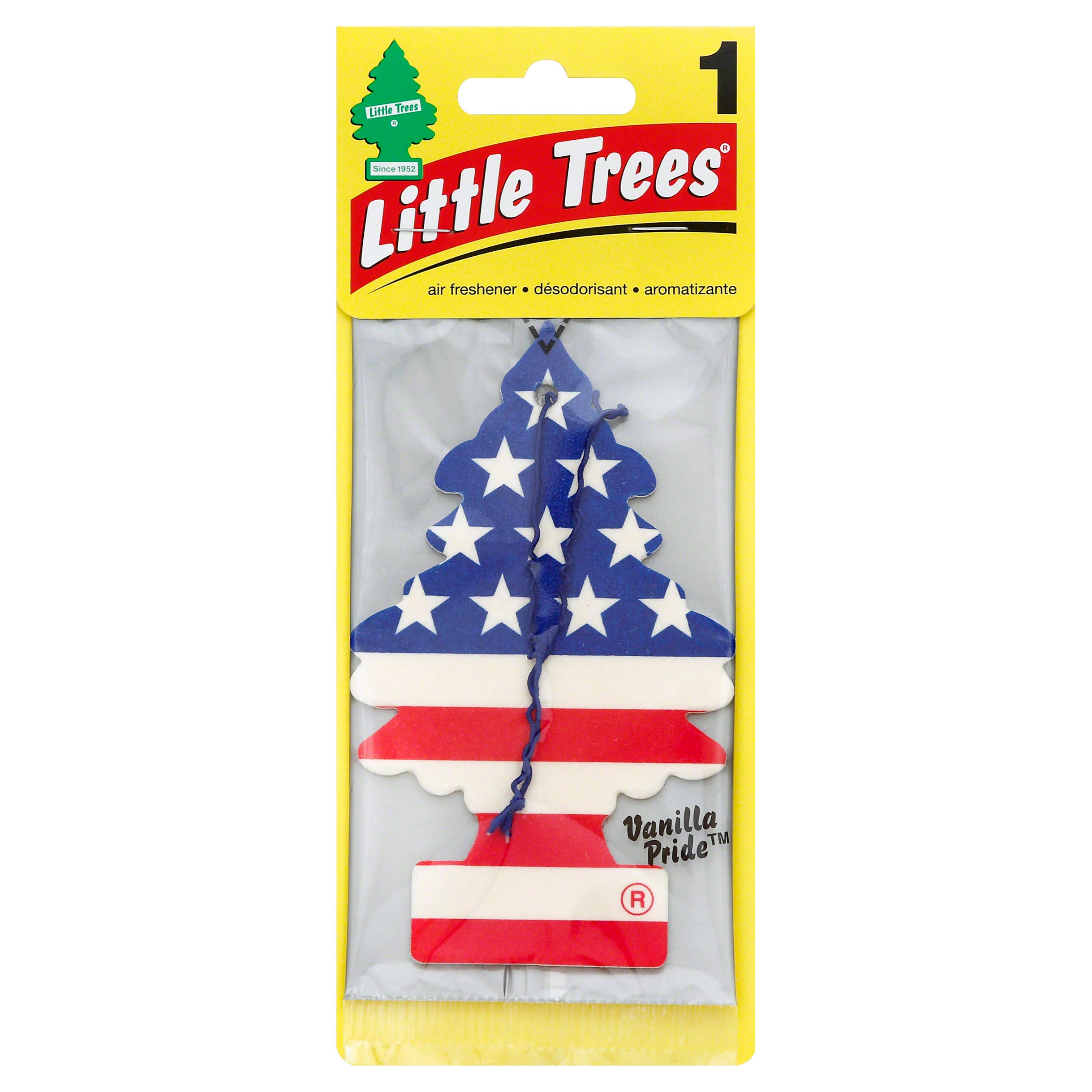 Car Freshener Little Tree Air Freshener - Vanilla Pride