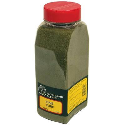 Woodland Scenics Turf - Fine Earth, 32oz