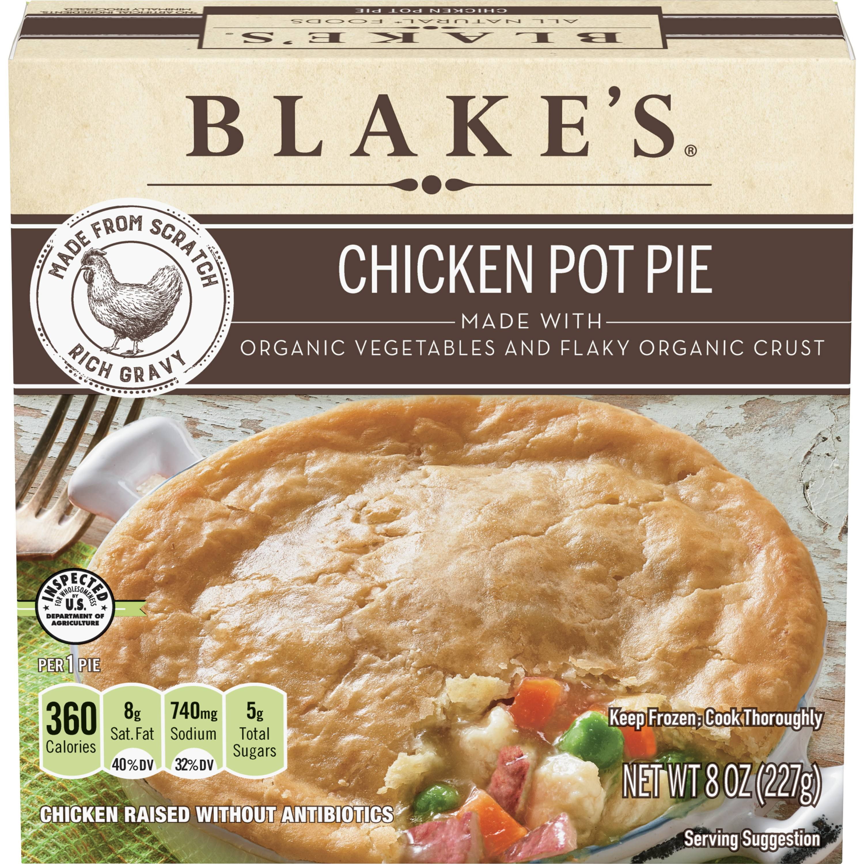 Blake's Chicken Pot Pie - 227g