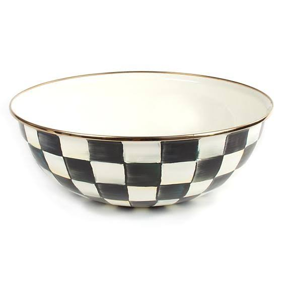 MacKenzie Courtly Check Everyday Bowl