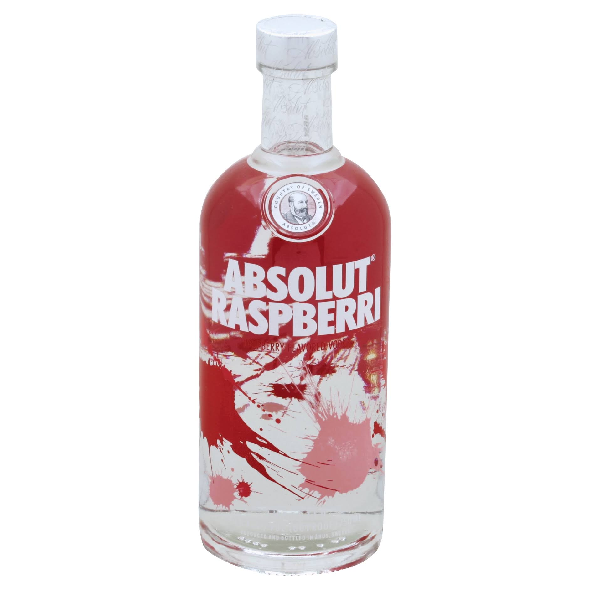 ABSOLUT Vodka - Raspberri, 750ml