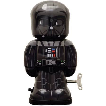 Star Wars Tin Darth Vader Wind Up Toy - 20cm x 10cm