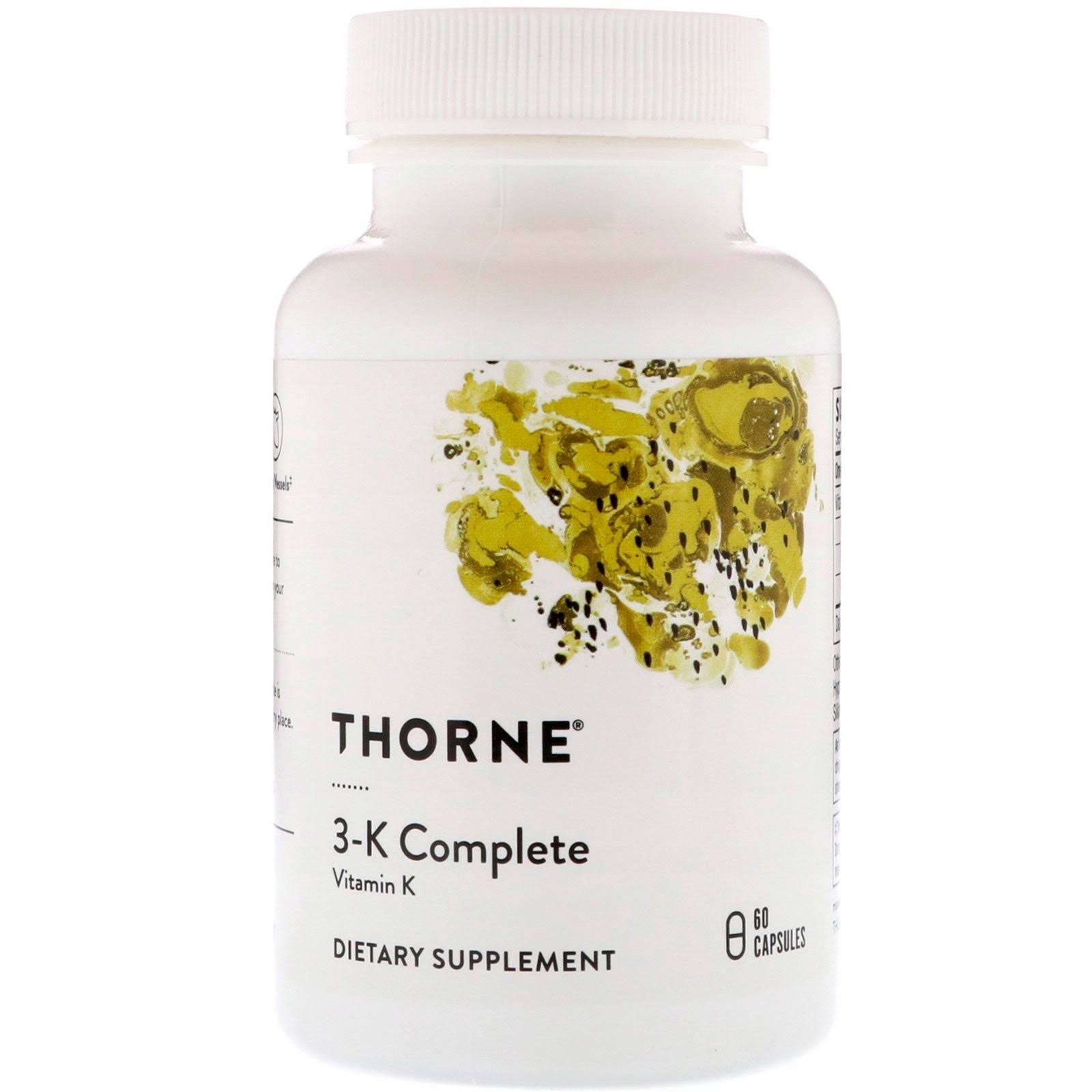 Thorne Research 3-K Complete - 60 Capsules