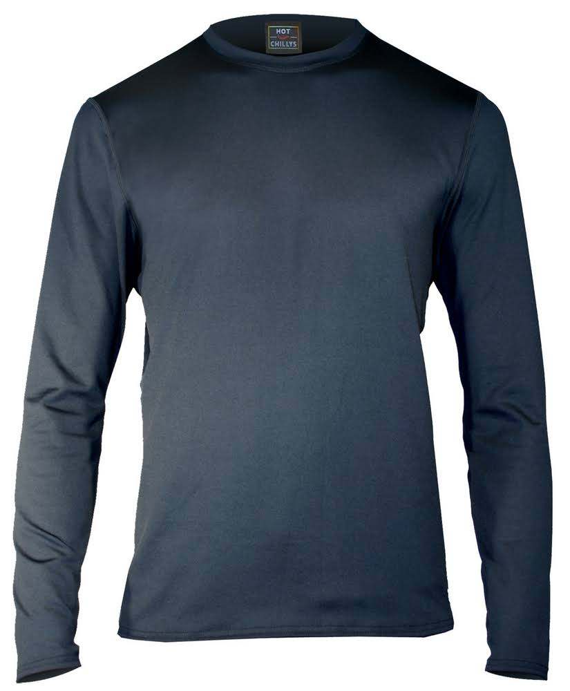 Hot Chillys Men's Micro-Elite Chamois Crewneck