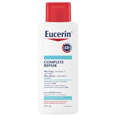 Eucerin Complete Repair Intensive Lotion for Dry Skin, 250ml