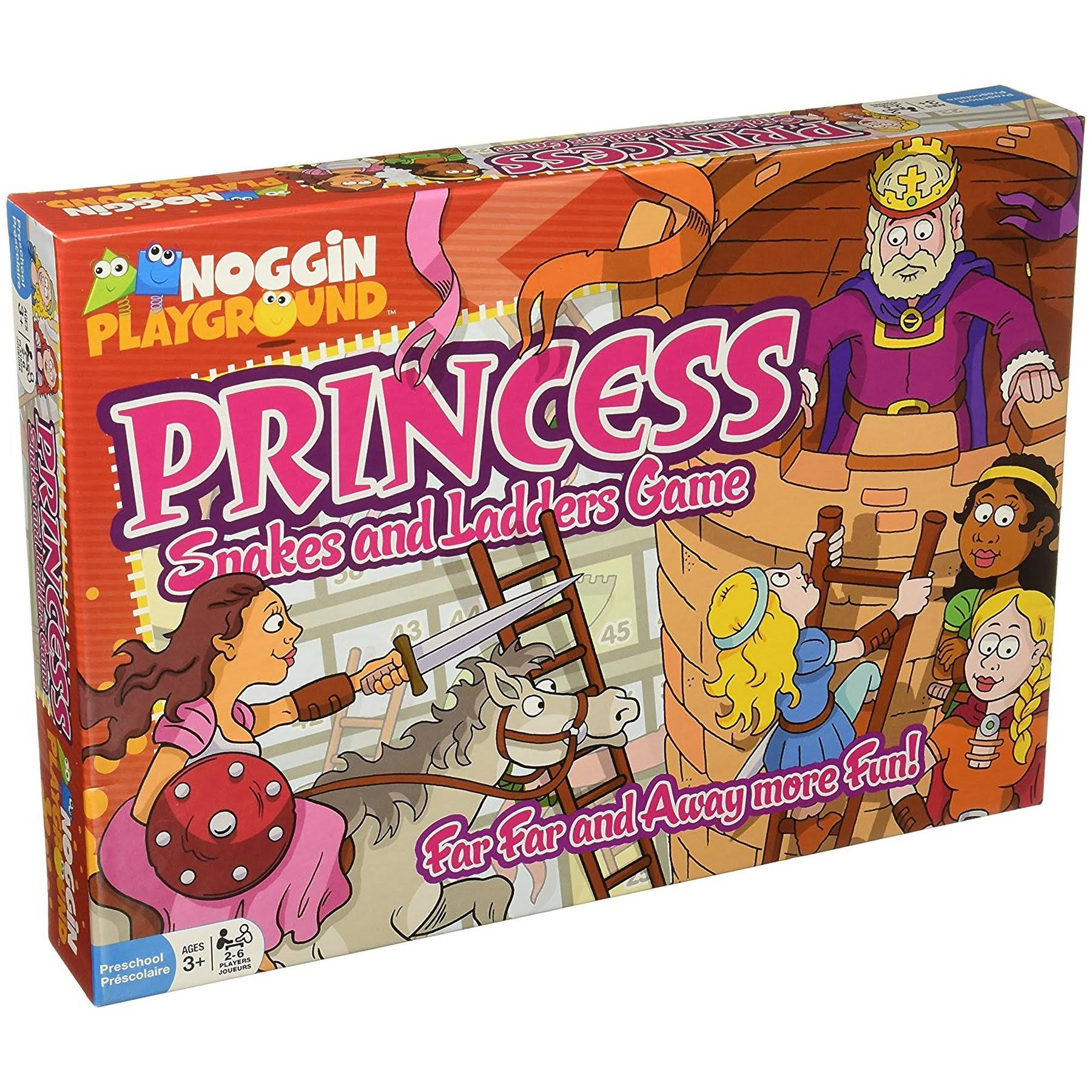 Noggin Playground Princess Snakes and Ladders Board Game