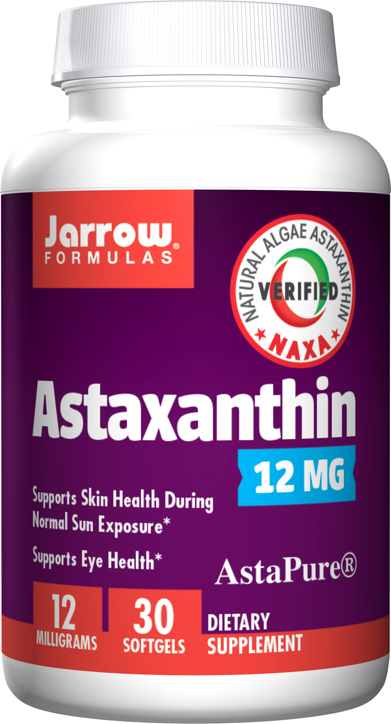 Jarrow Formulas Astaxanthin - 12mg, 30 Softgels