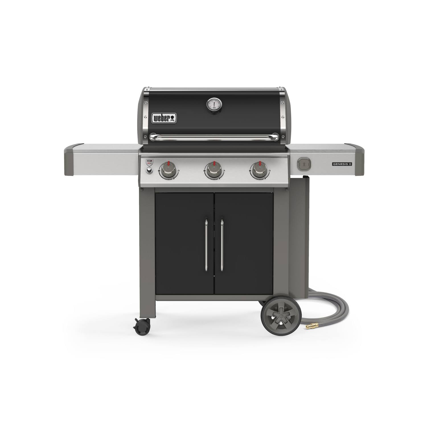 Weber Genesis Ii E-315 Natural Gas Grill - Black