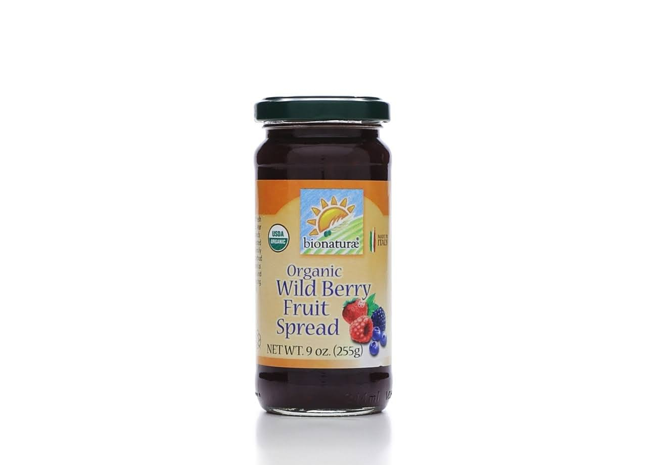Bionaturae Fruit Spread, Organic, Wild Berry - 9 oz