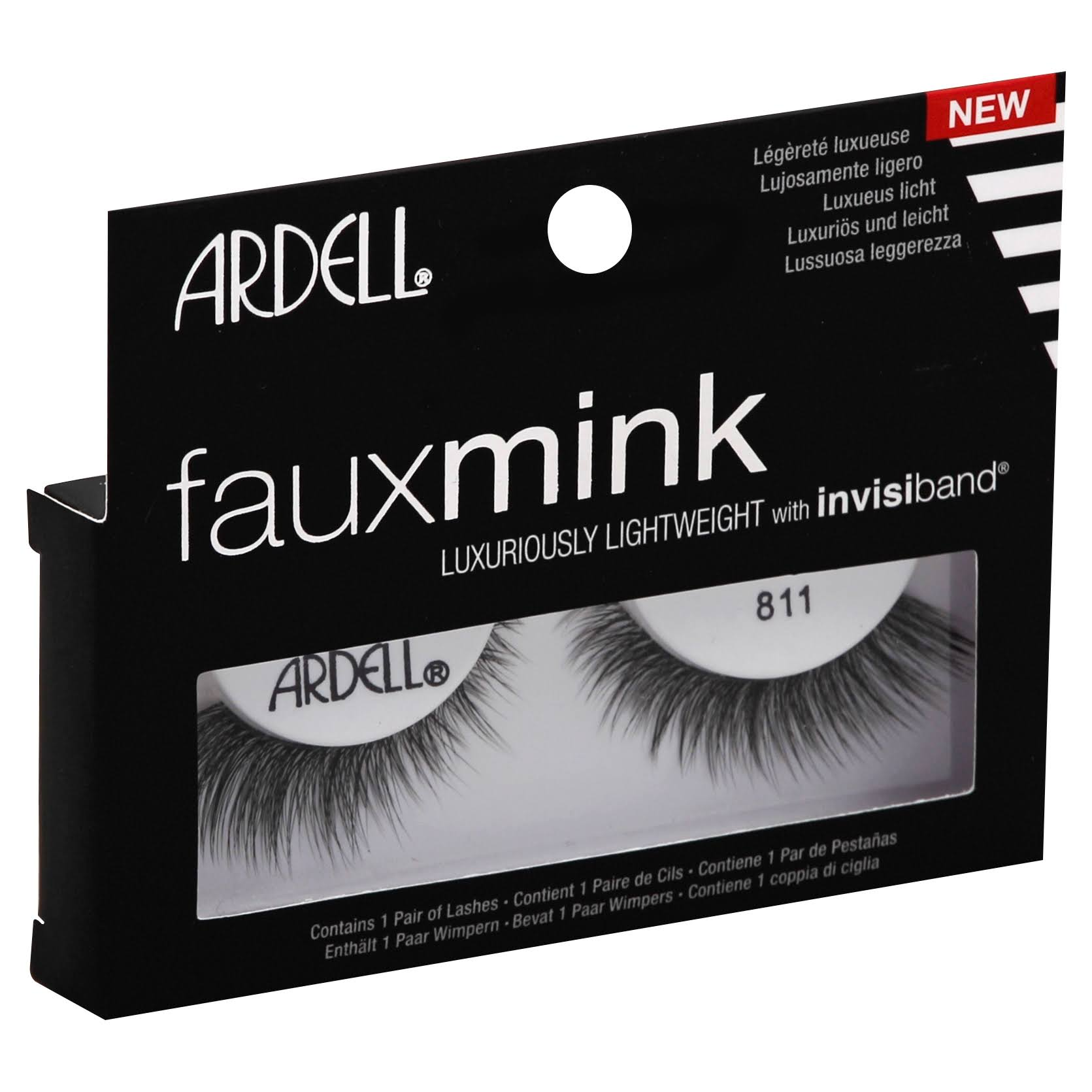 Ardell Lashes, Fauxmink, 811