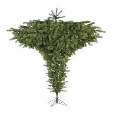 Christmas Tree Species Name by Shop Vickerman 7 5 Ft 2051 Count Pre Lit Upside Down Artificial