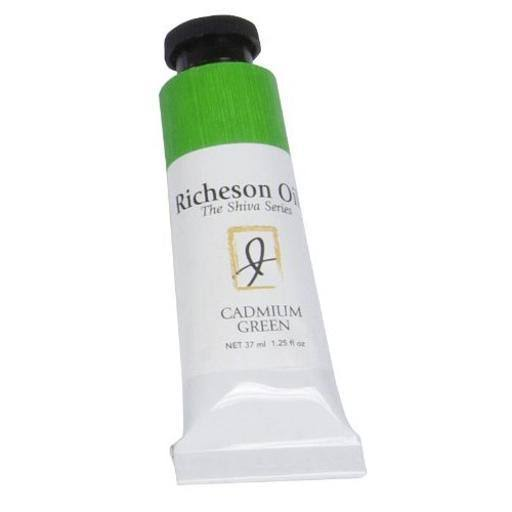 Jack Richeson Artist Oil Colors - Cadmium Green, 37ml