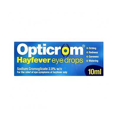 Opticrom Hayfever Eye Drops - 10ml