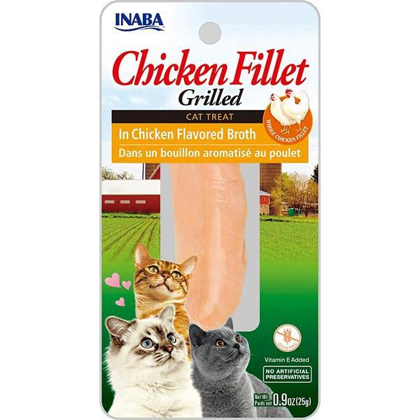 Ciao Grilled Chicken Fillet in Chicken Broth Cat Treat