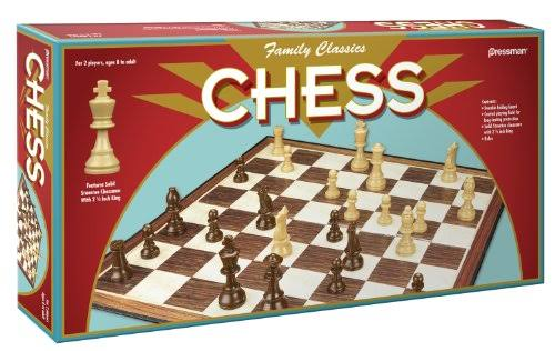 Family Classic Chess Board Game