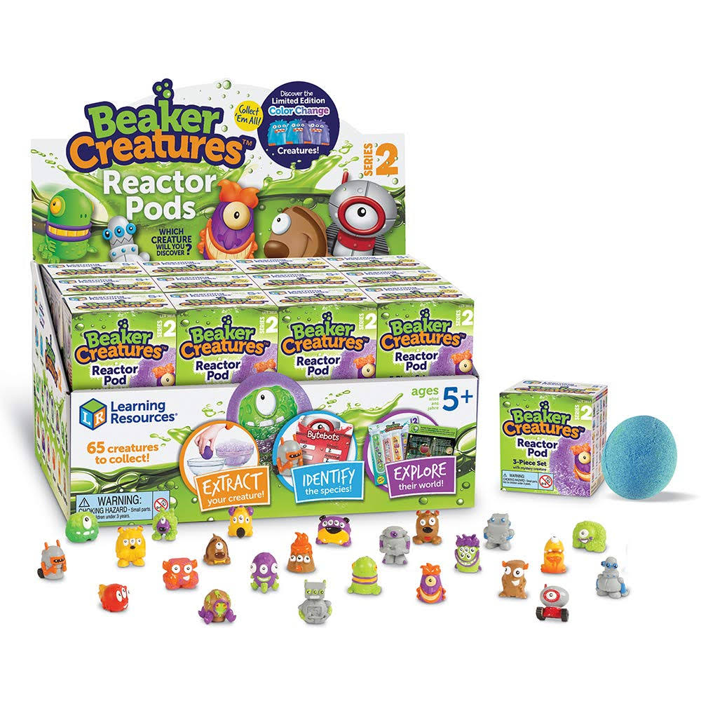Beaker Creatures Reactor Pod Series 2 by Learning Resources
