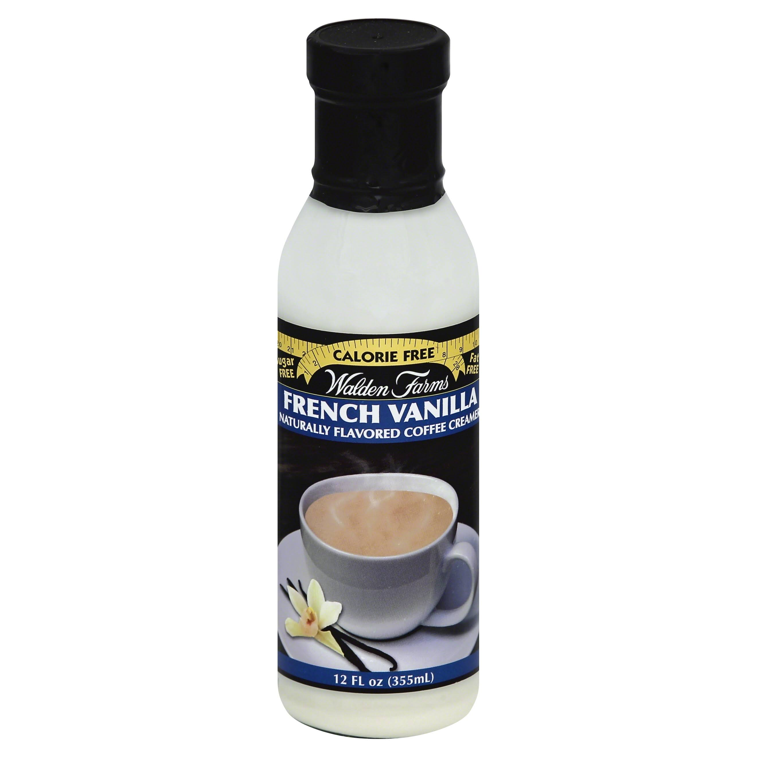 Walden Farms Naturally Flavored Coffee Creamer - French Vanilla, 355ml
