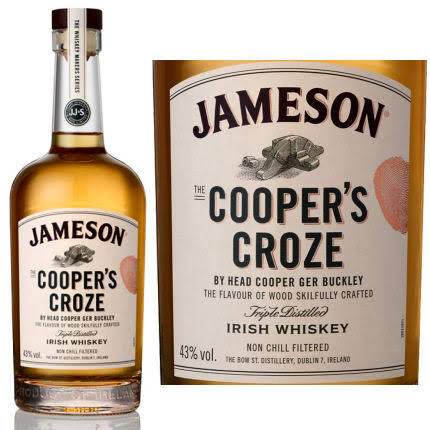 Jameson Coopers Croze Irish Whiskey - 750ml