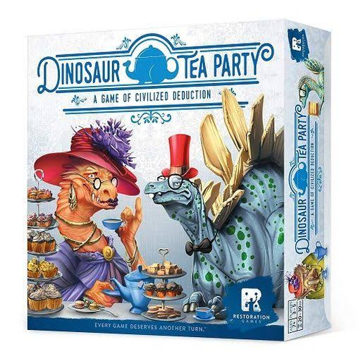 Restoration Games Dinosaur Tea Party Board Game
