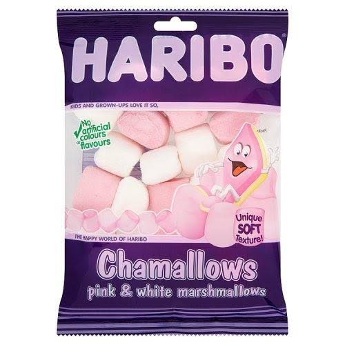 Haribo Chamallows - Pink and White, 140g