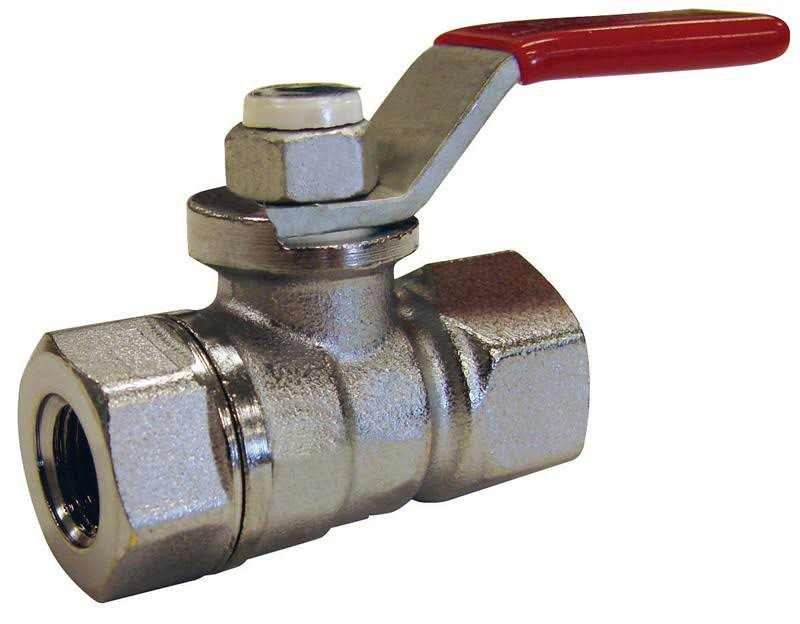 ProLine 107-003NL Forged Full Port Ball Valve - Brass Chrome Plated