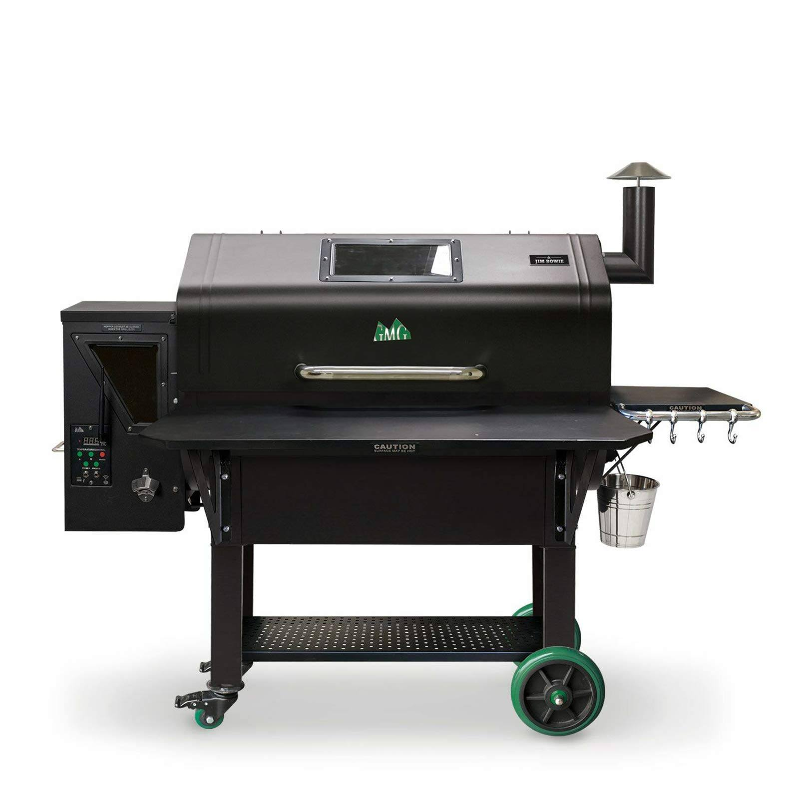 Green Mountain Grills Jim Bowie Prime Pellet Smoker/Grill Yes