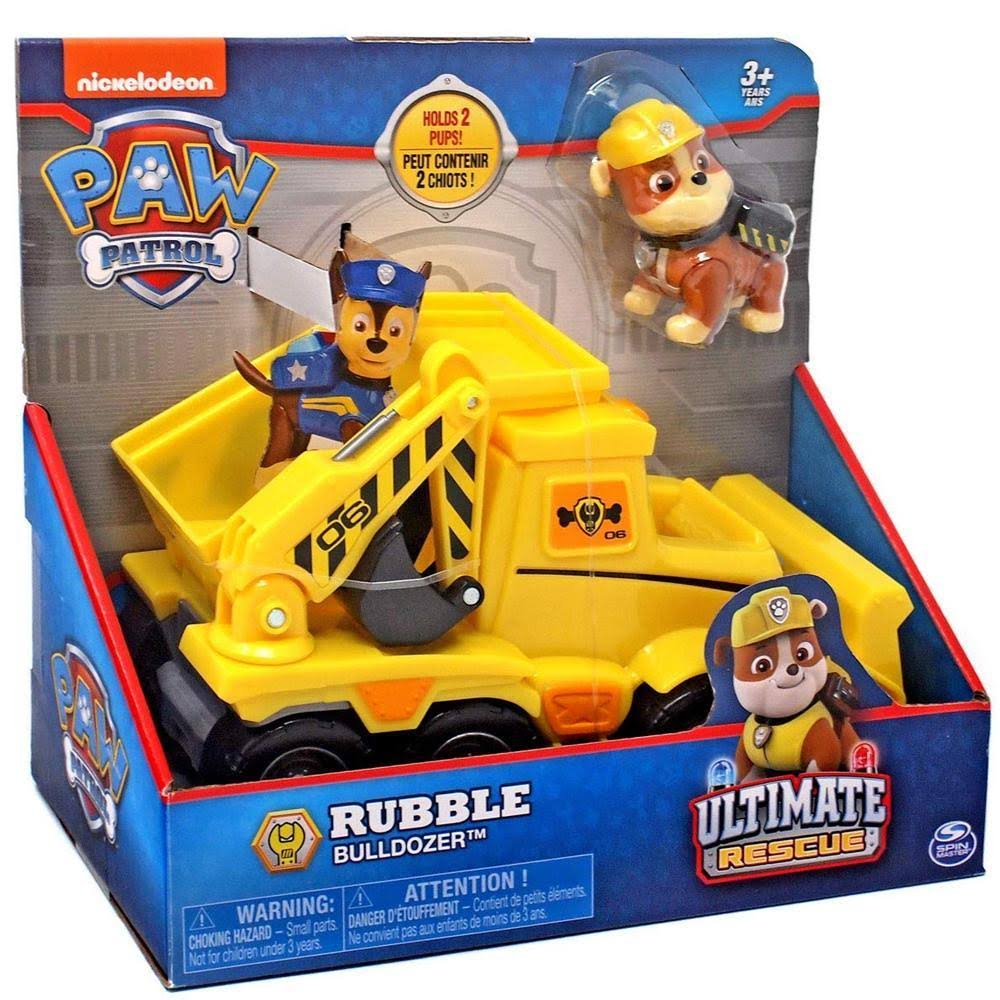 Paw Patrol Ultimate Rescue Rubble Bulldozer