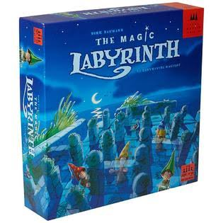The Magic Labyrinth English Edition Board Game